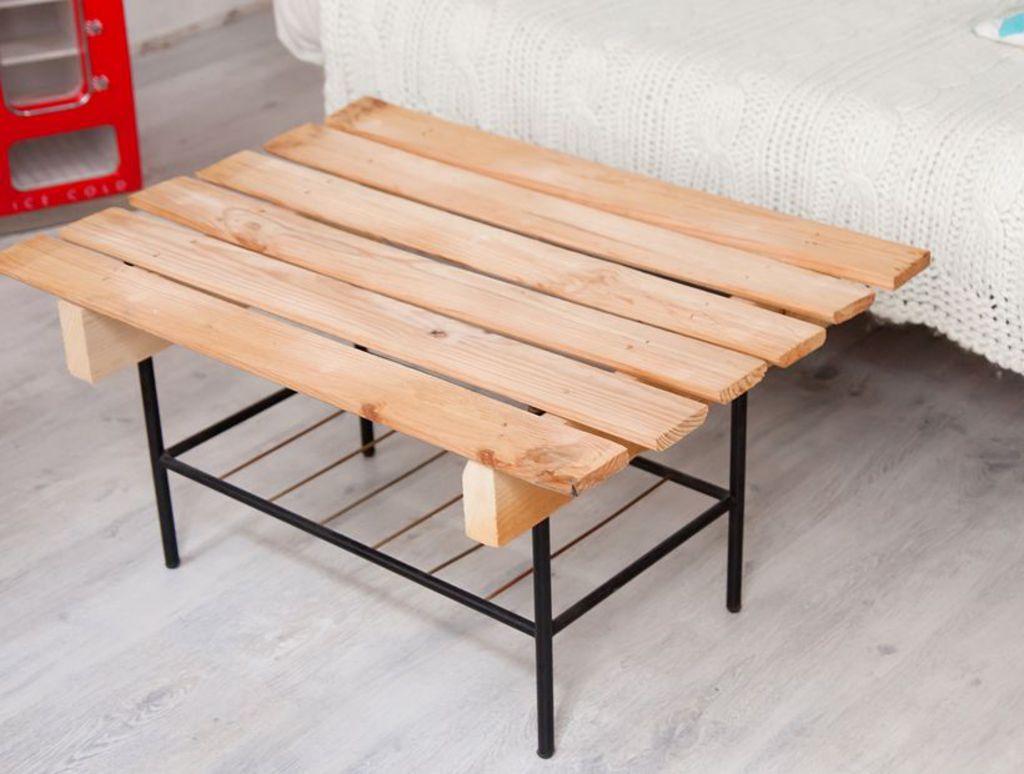 Comment fabriquer table basse avec palette - Mobilier design ...