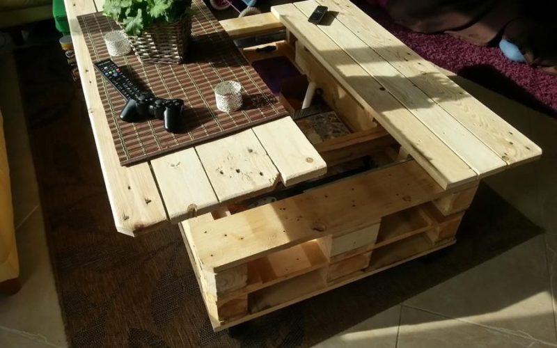 Creer une table basse avec une palette mobilier design d coration d 39 int rieur - Creer une table basse ...