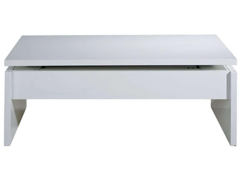 Table basse plateau relevable conforama