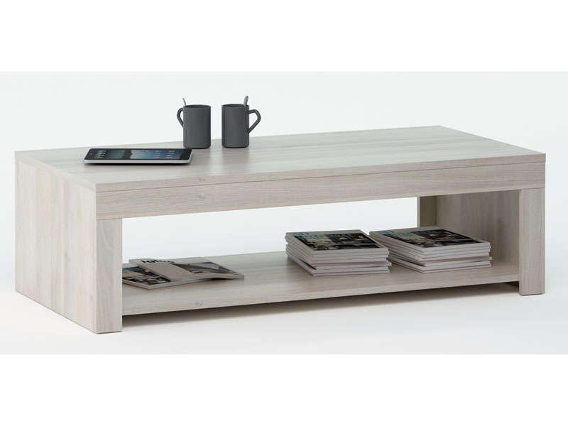 Table basse bois avec tiroir conforama