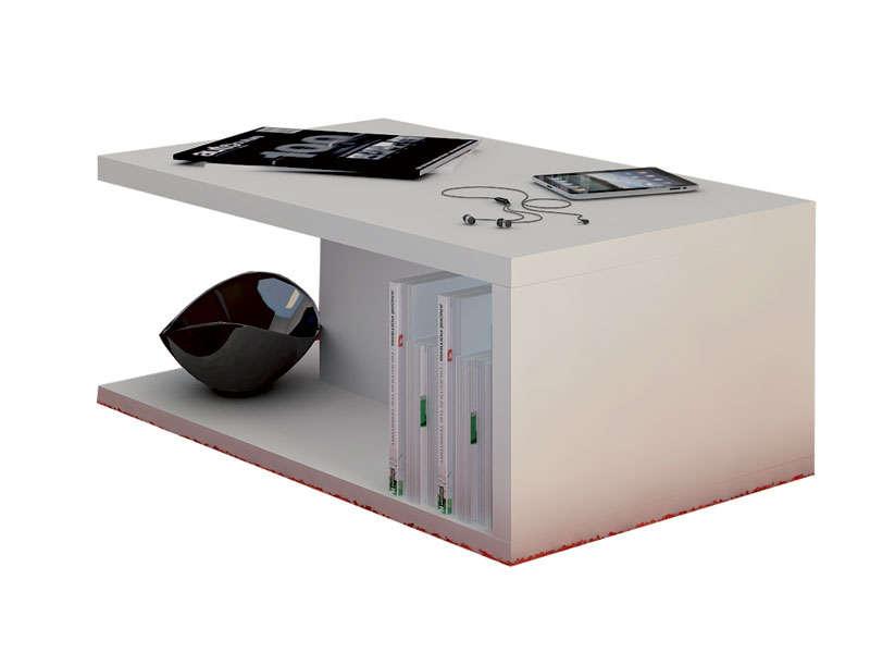 Table basse design pas cher conforama