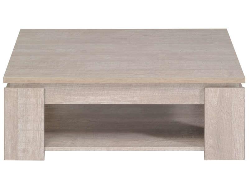 Table basse en bois chez conforama