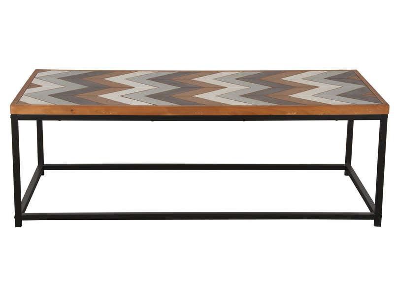 Table basse bois conforama
