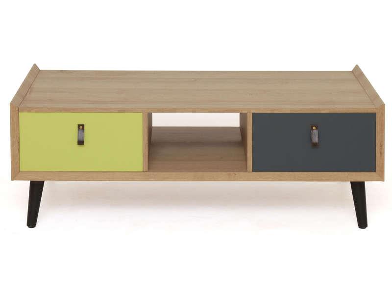 Table basse angle conforama