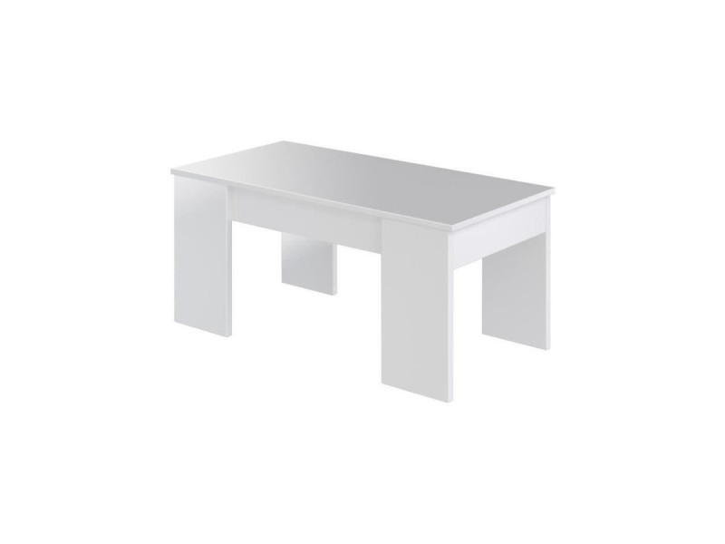 Swing table basse plateau relevable style contemporain