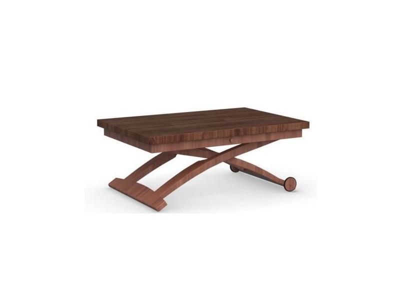 Table basse avec tablette relevable conforama