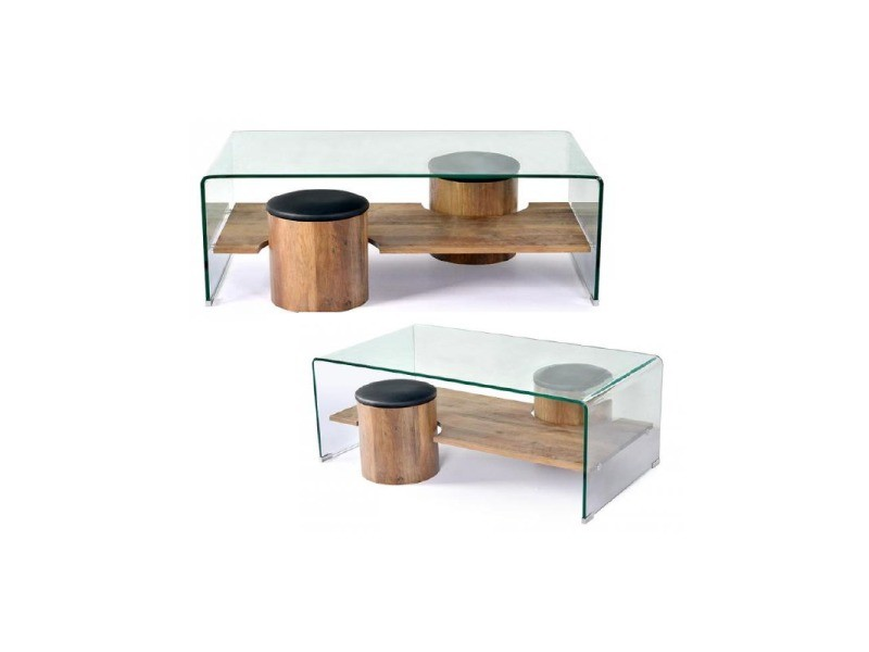 Table basse factory conforama