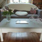 Retaper table basse bois
