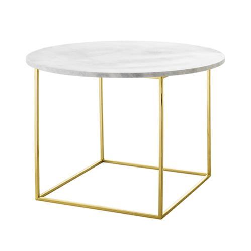 Table basse plateau marbre