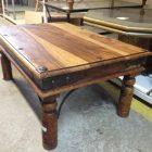 Peindre table basse bois