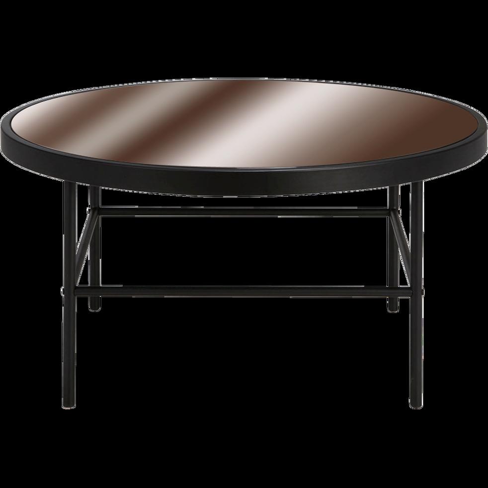 Table basse alinea noire
