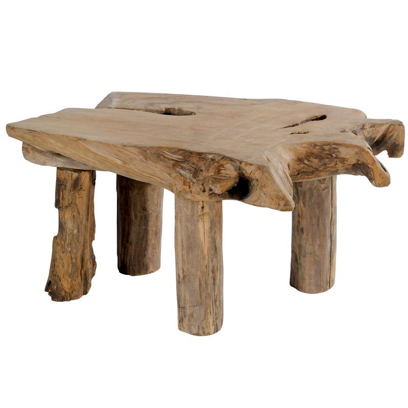 Table basse stone scandinave