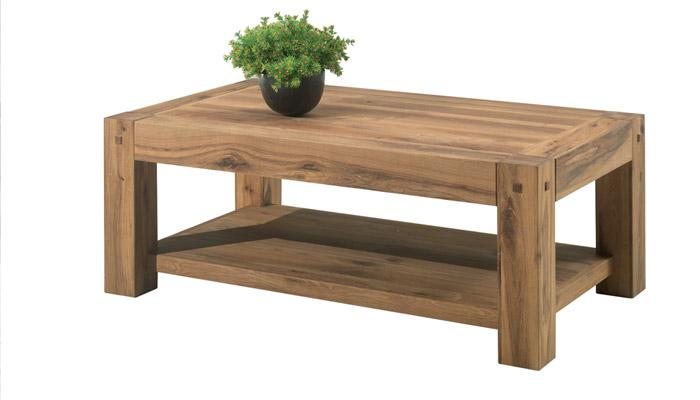 Table basse scandinave fait maison
