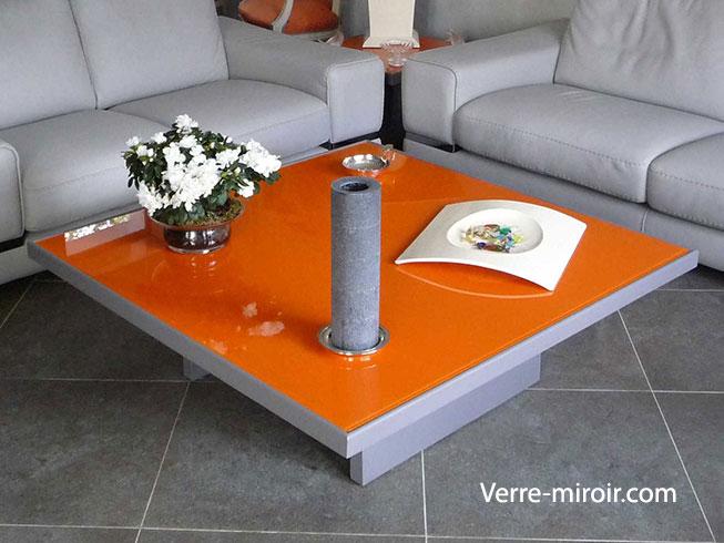 Protection pour table basse en bois