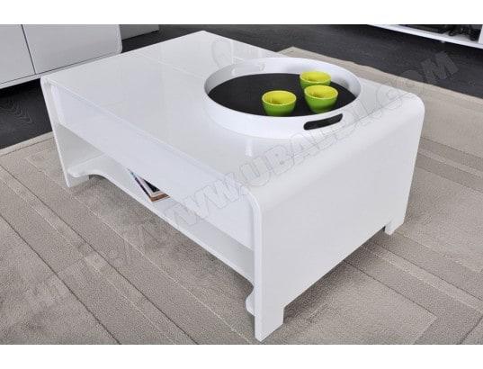 Table basse ub design san francisco blanche