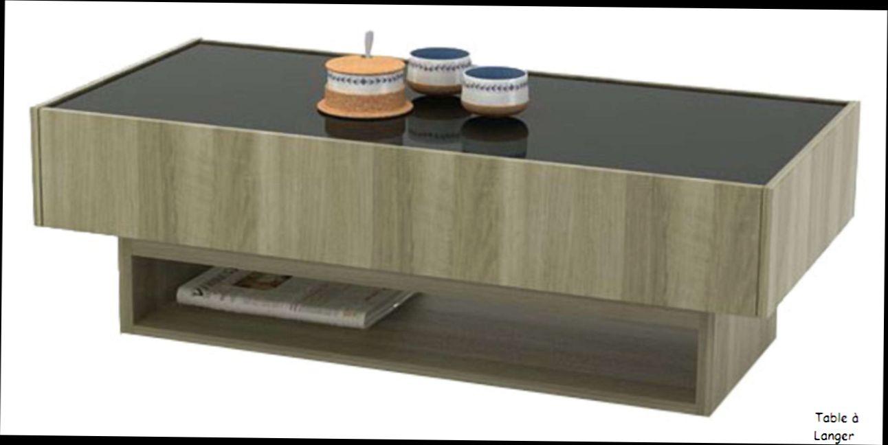 Table basse delhia conforama