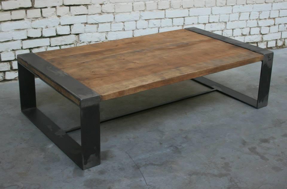 Plateau bois de table basse