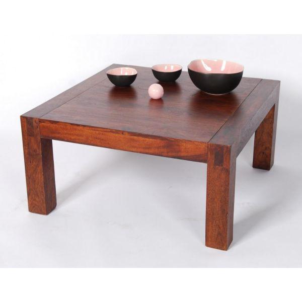 Table basse bois palissandre