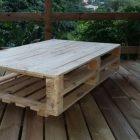 Vente table basse palette