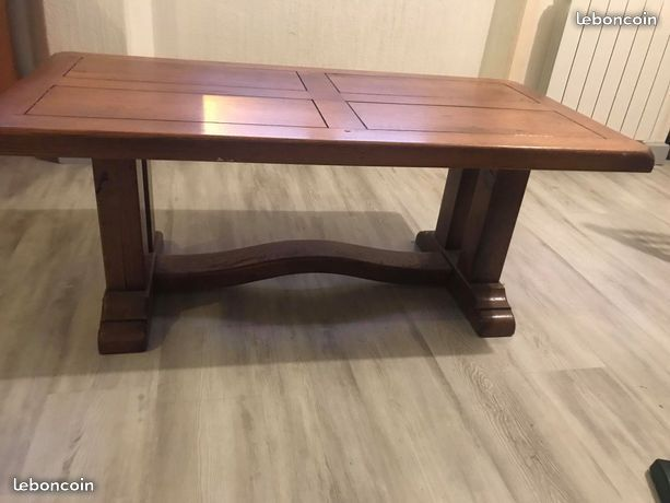 Table basse en bois d'occasion