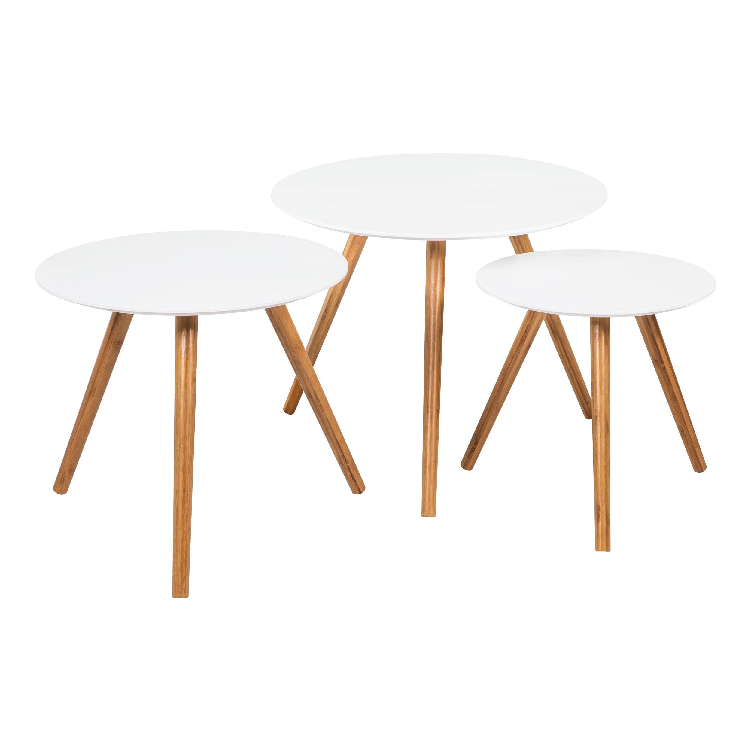 Lot de table basse scandinave