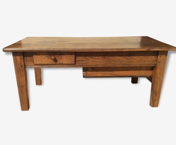 Table basse bois ancienne