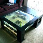 Recherche table basse aquarium pas cher