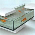 Table basse aquarium discount