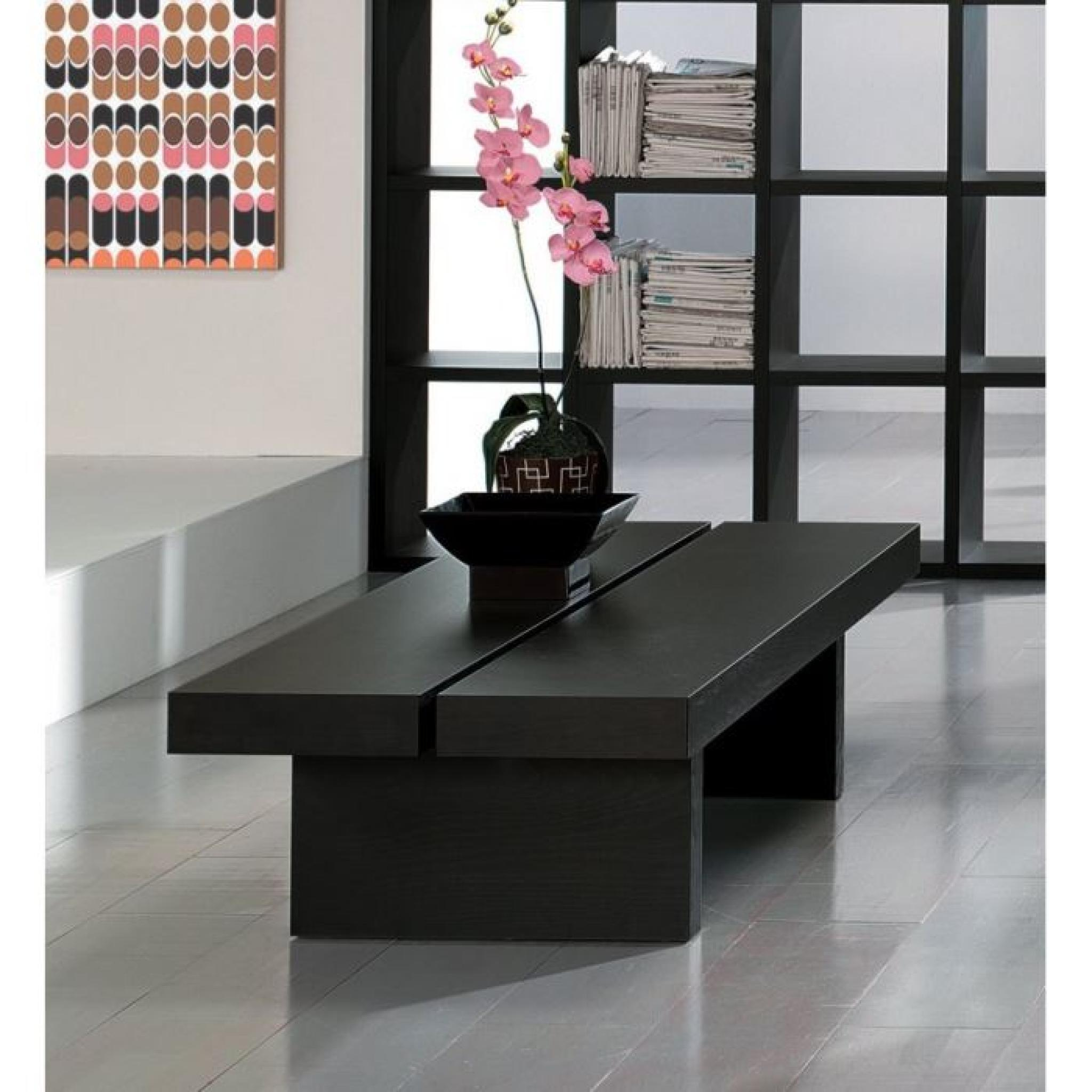 Table basse design japonaise