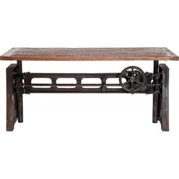 Table basse industrielle métal et bois madison