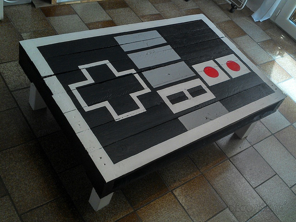 Table basse palette nintendo
