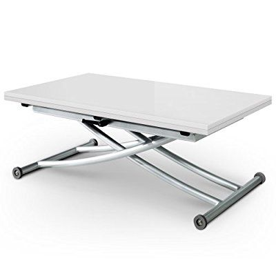 Table basse relevable 100x100