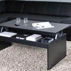Table basse relevable 120 cm