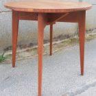 Table basse bois naturel années 20-30