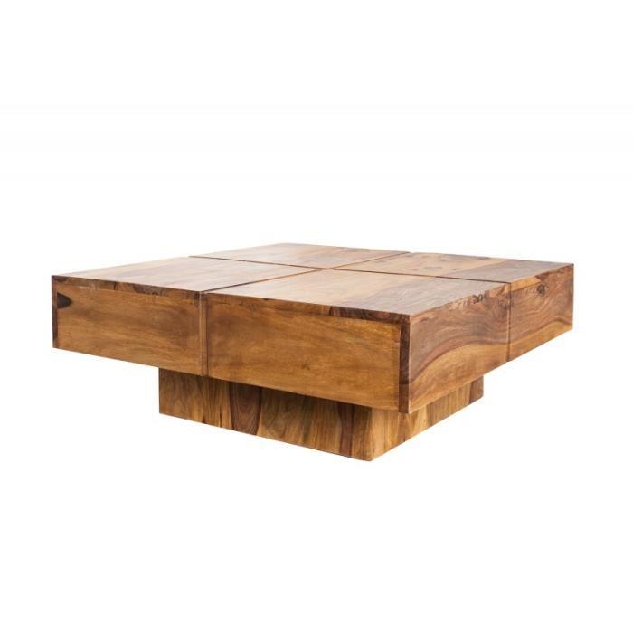 Table bois basse design