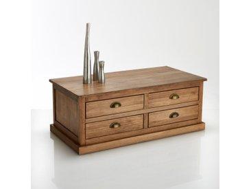 Artic table basse avec coffre en bois