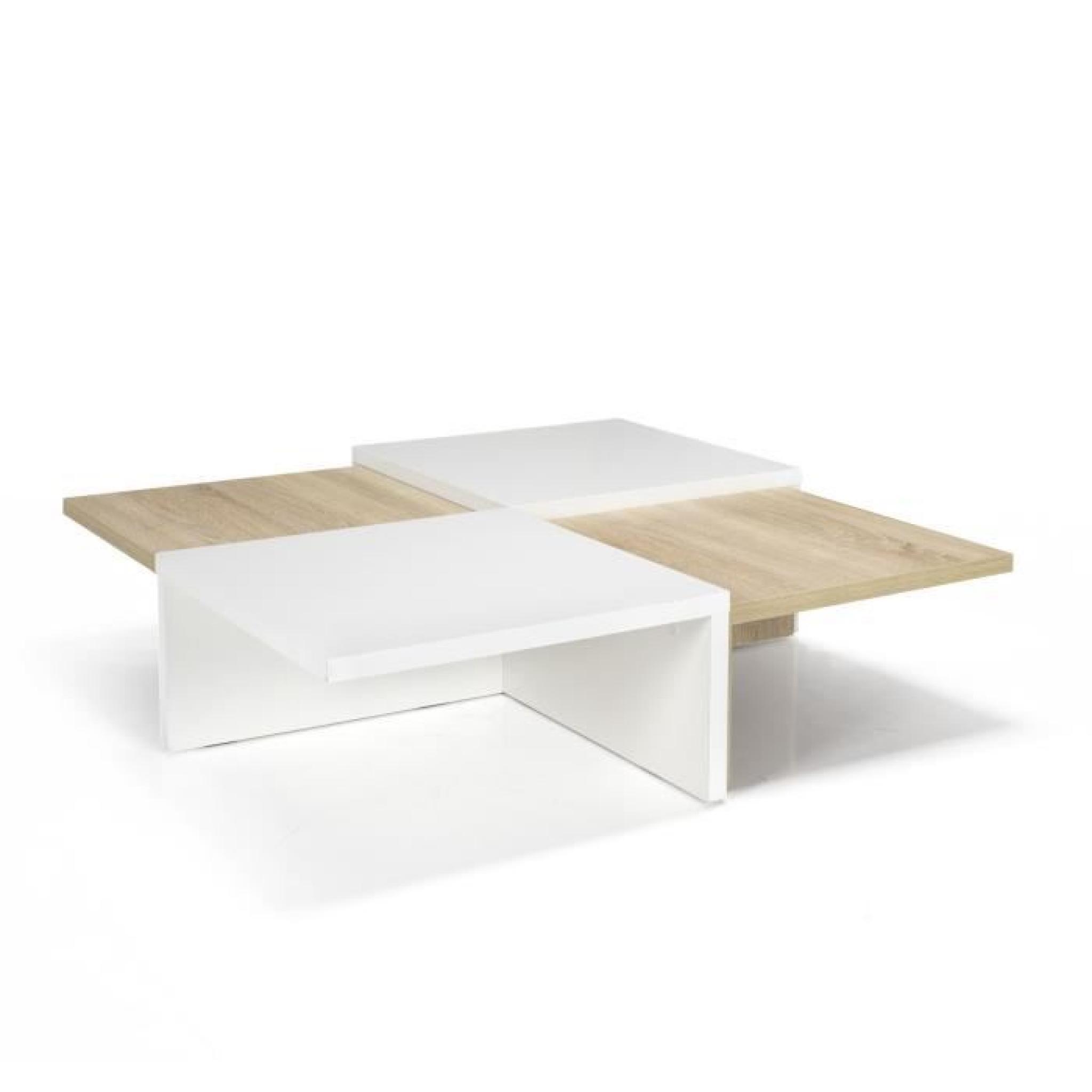 Table scandinave basse pas cher