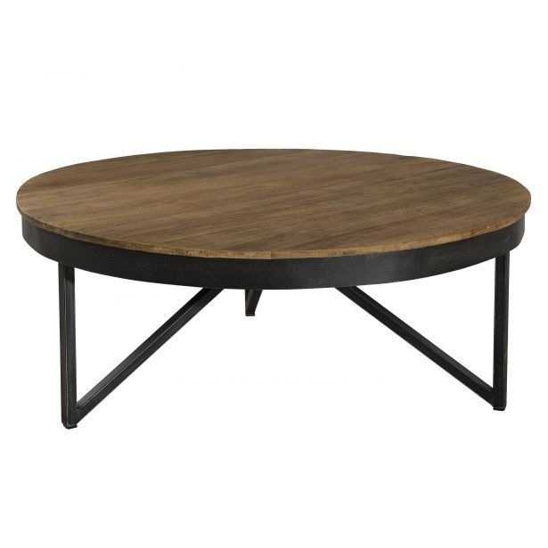 Table basse style scandinave gris