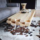 Comment construire une table basse en bois