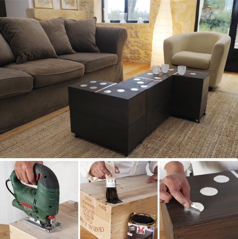 Table basse bois bricolage
