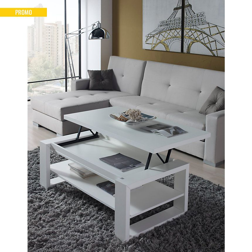 Camif table basse relevable