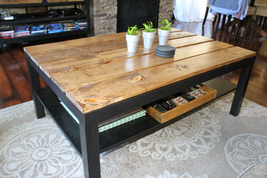 Table basse ikea mesure