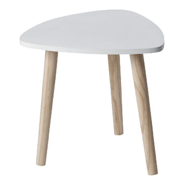 Table basse avec pouf gifi