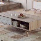 Table basse meuble scandinave