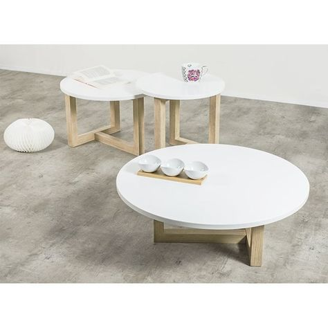 Table basse scandinave redoute