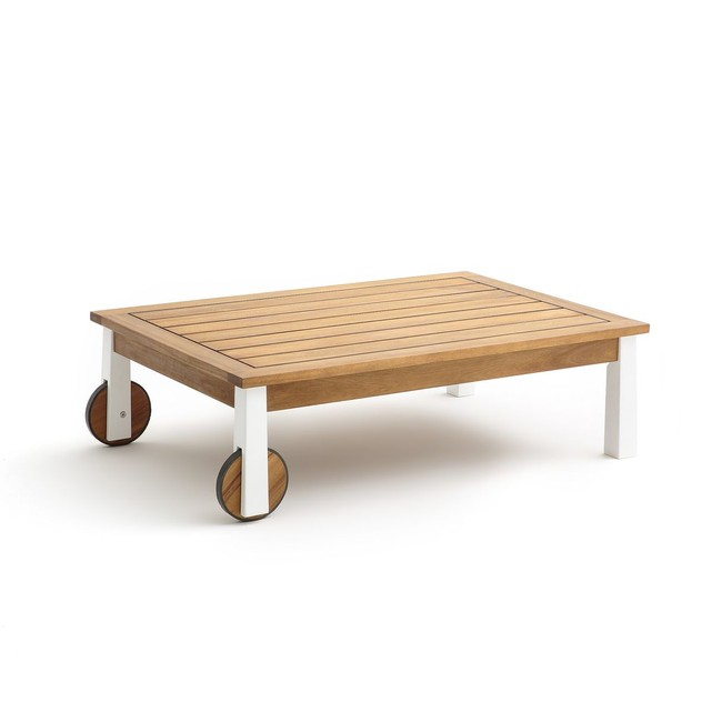 La redoute table basse bois blanc