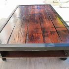 Table basse modulable palette