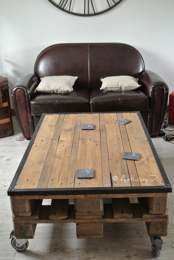Achat table basse palette europe