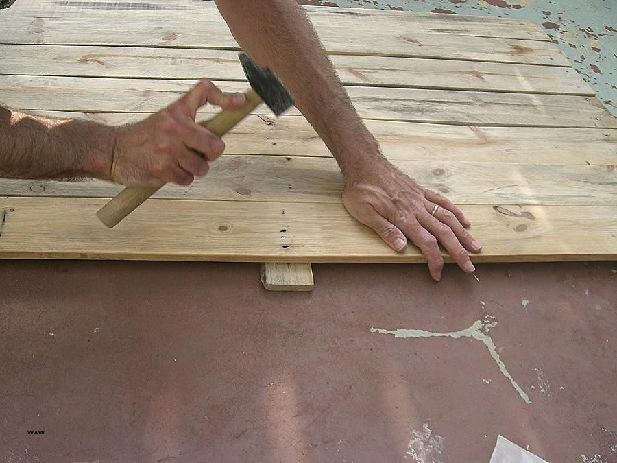 Tuto table basse palette relevable