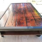 Table basse palette youtube